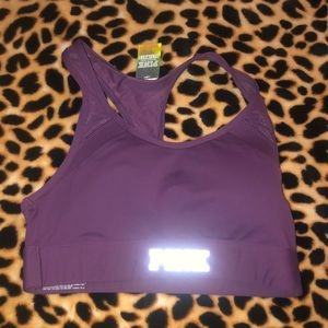 NWT PINK ULTIMATE SPORTS BRA SIZE SMALL